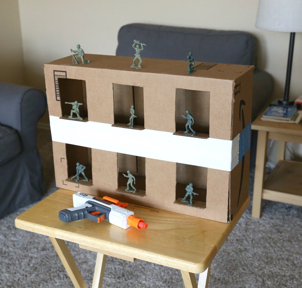 DIY Nerf Shooting Gallery
