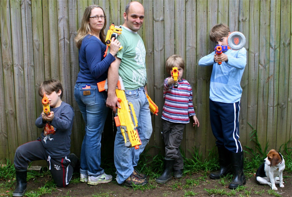 Nerf Family Activities, Family Game Night Activities