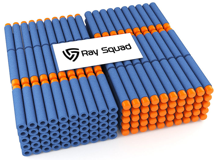 500 Pack Blue Nerf Compatible Darts