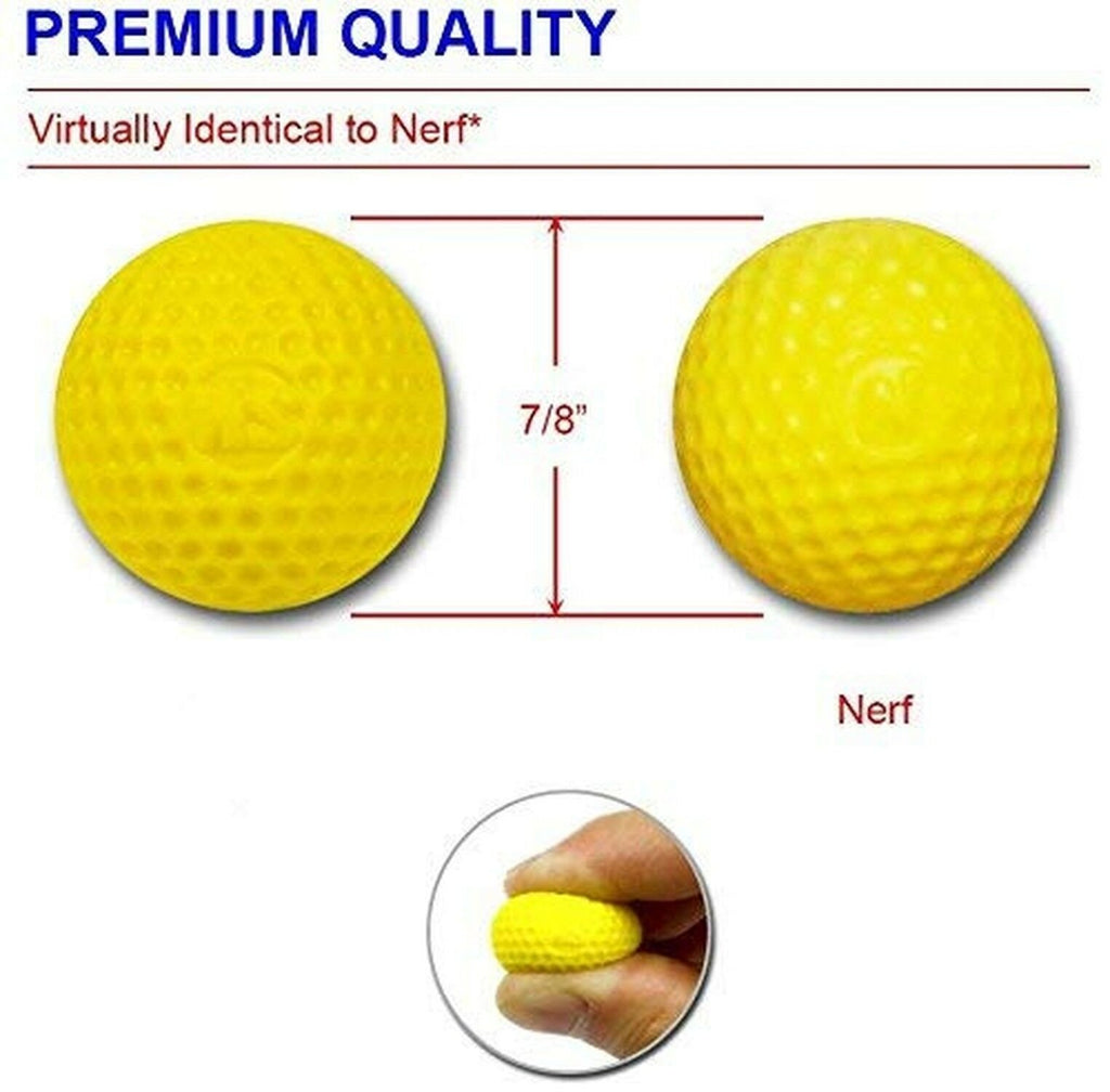 Ray Squad Compatible with/Replacement for 200 Yellow Foam Bullet Balls,Nerf R...