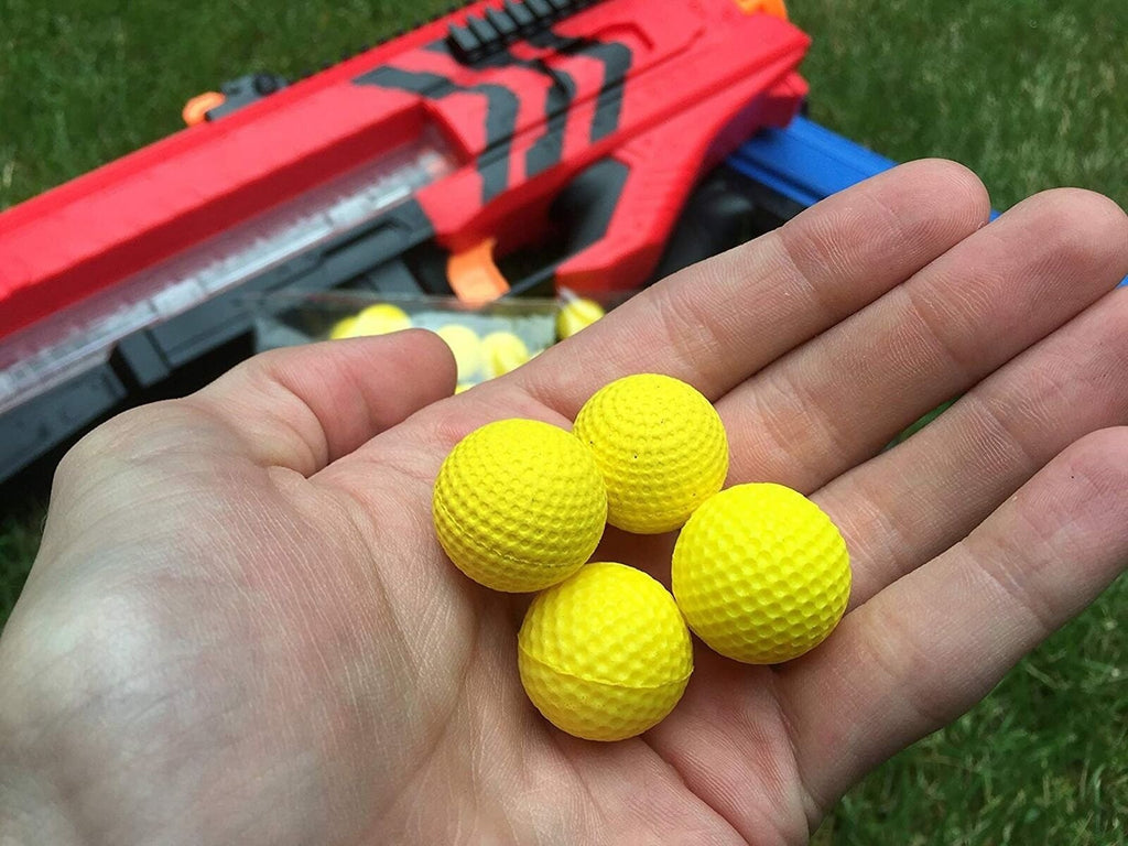 Ray Squad Compatible with/Replacement for 500 Yellow Foam Bullet Balls,Nerf R...