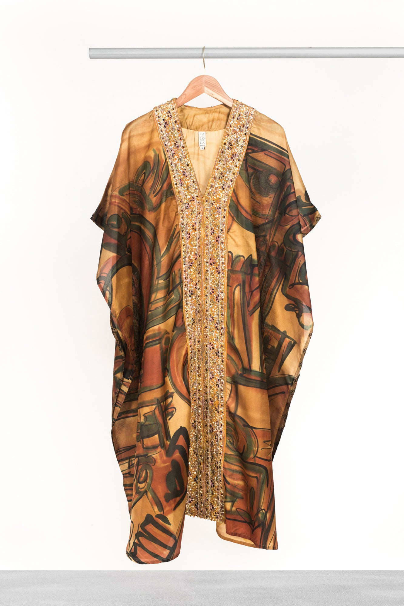 Bronze Tigress Kaftan