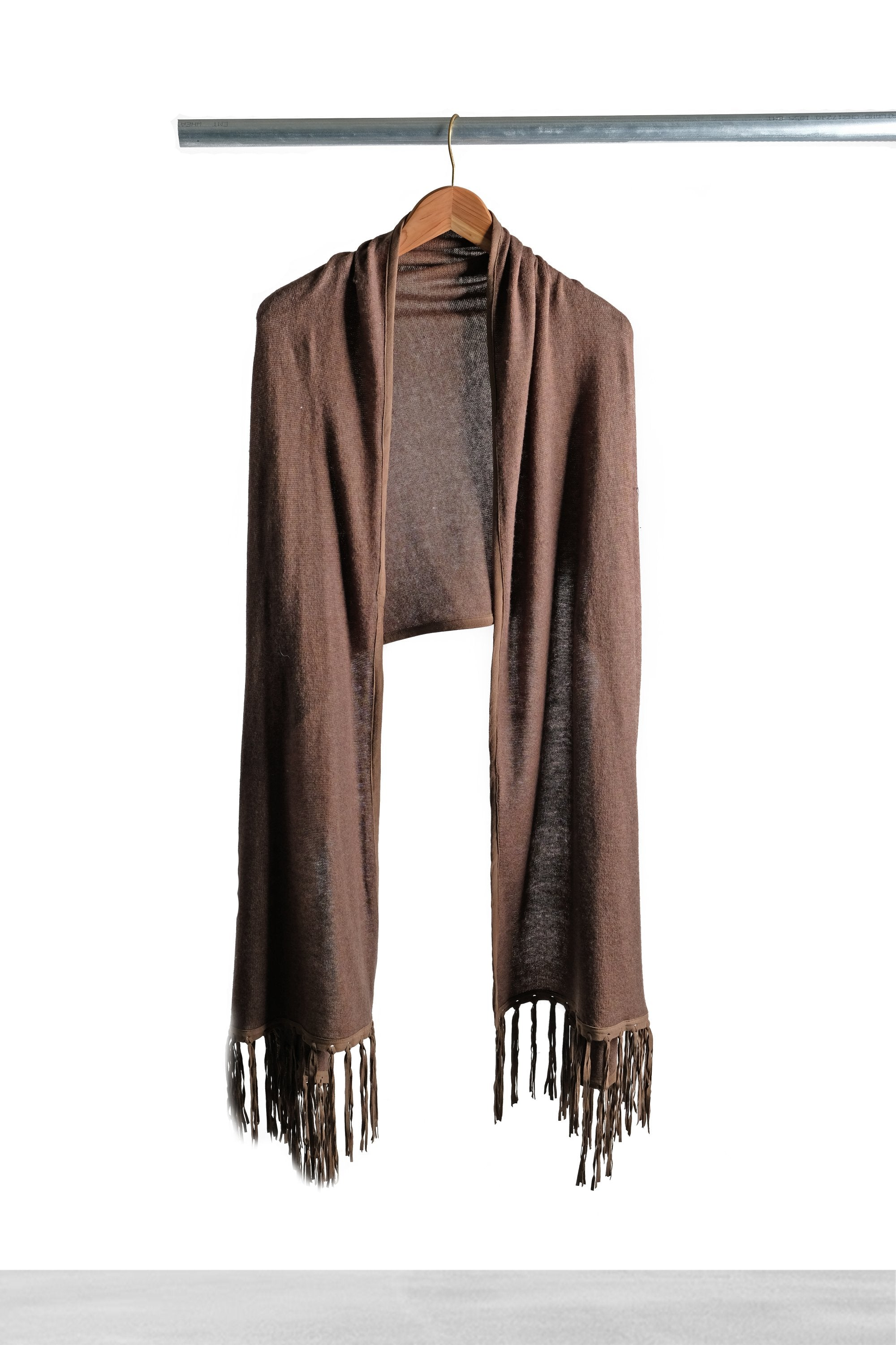 Cinnamon Shawl with Fringe - La Lo La Clothing