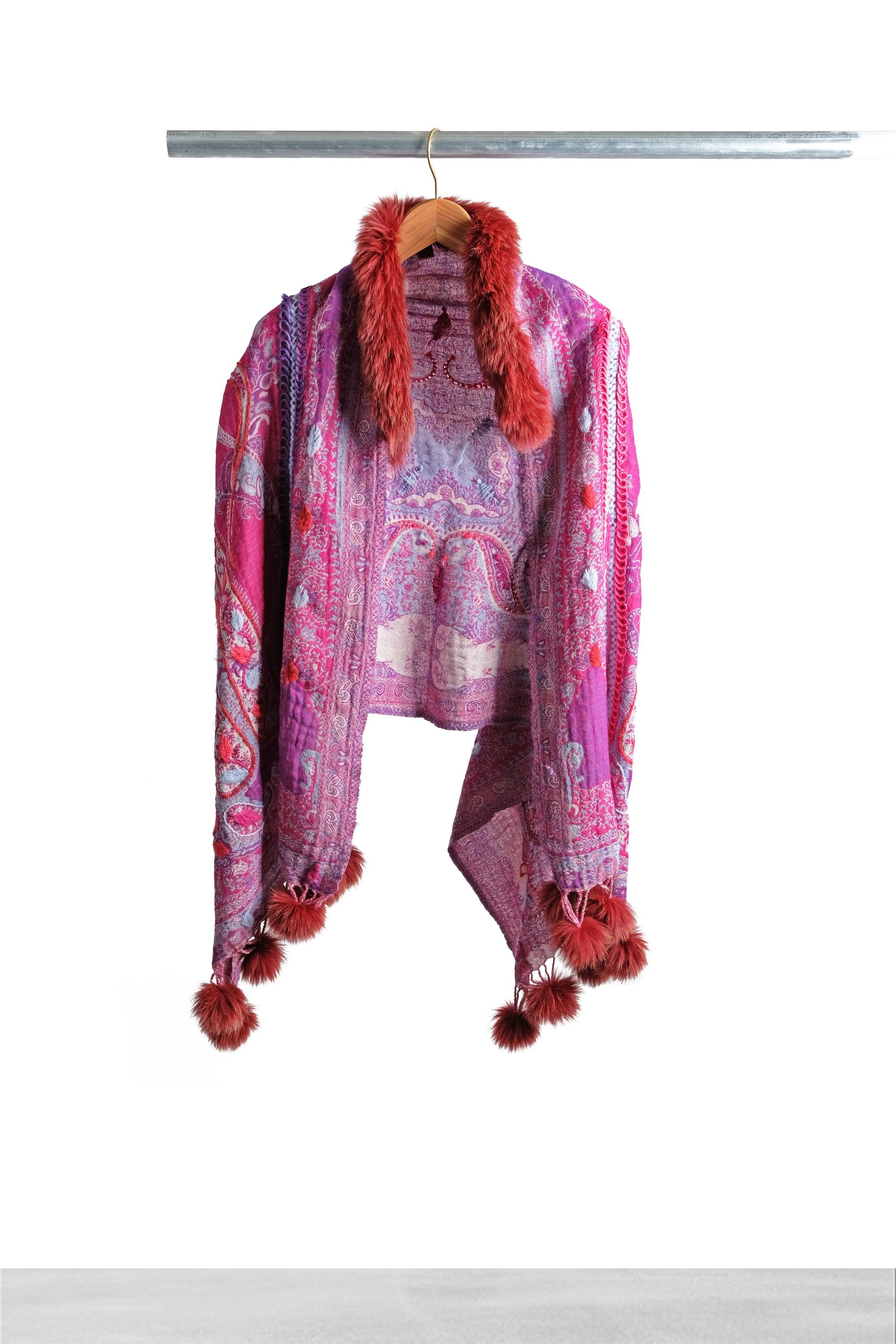 Hot Love Pom Pom Cape