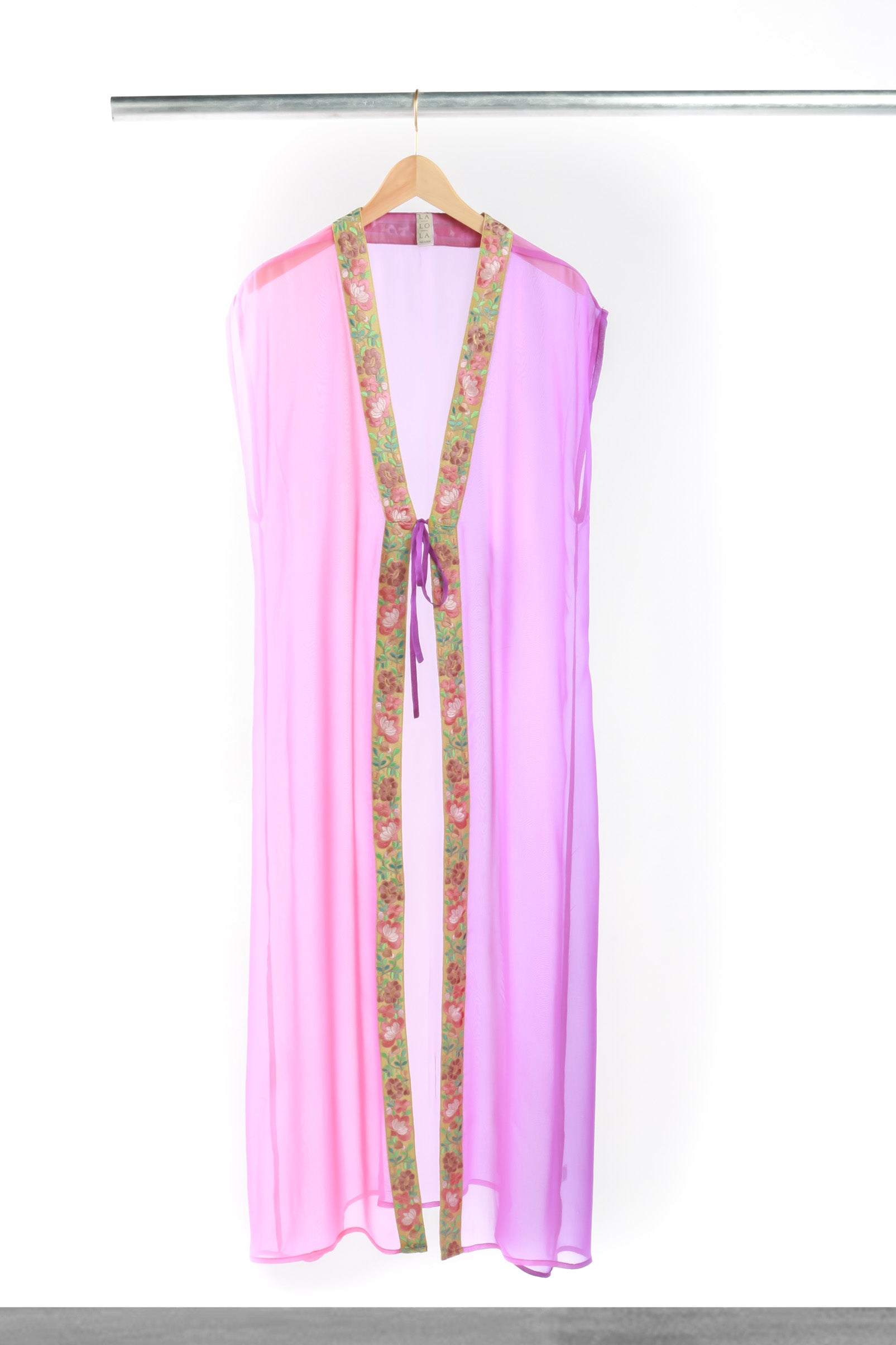 Lavender Blush Long Cover Up