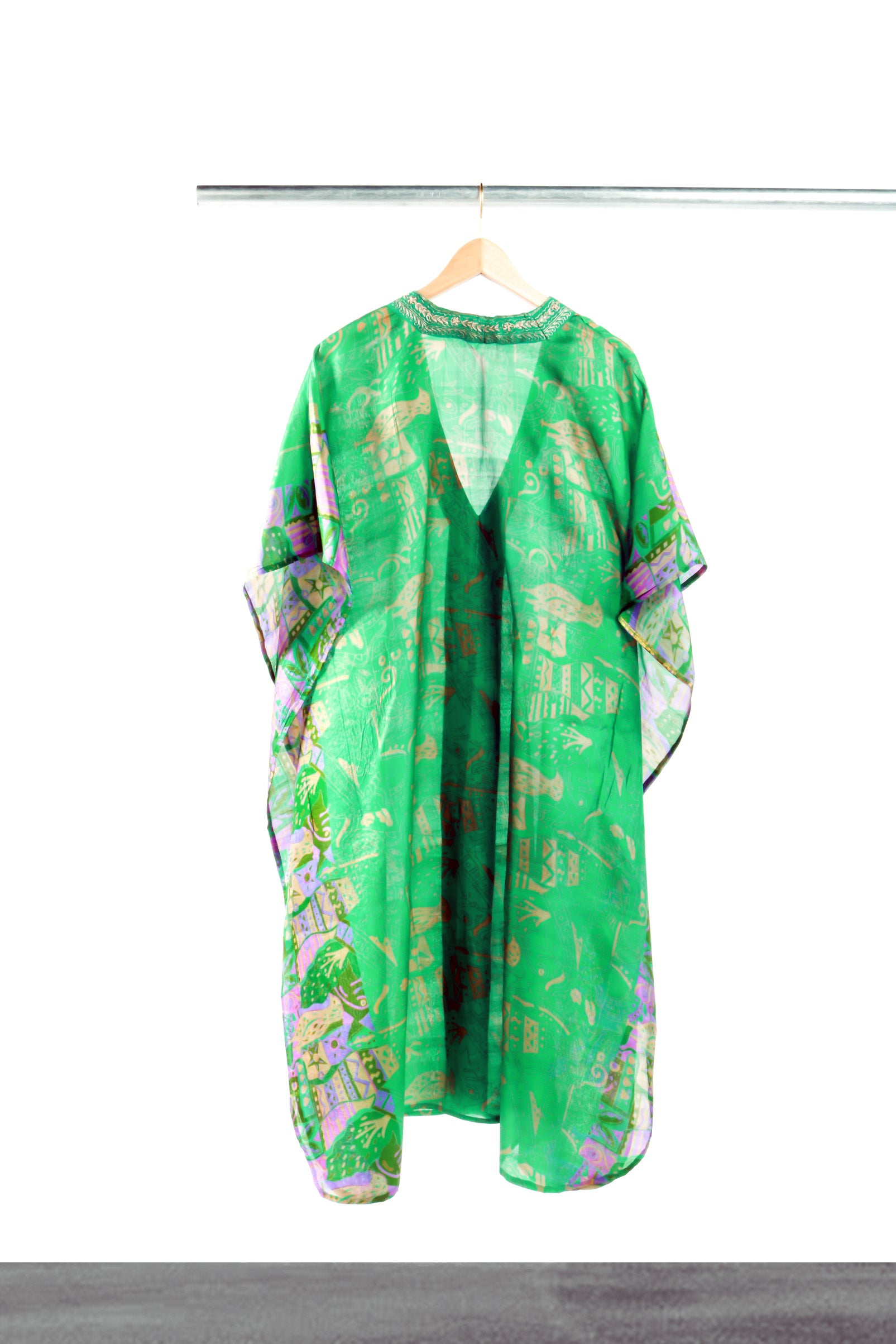 Out of the Jungle Mid-length Kaftan