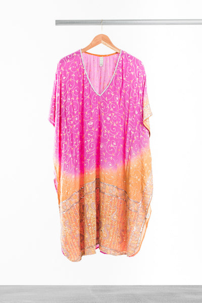 Pretty In Pink Kaftan - La Lo La Clothing