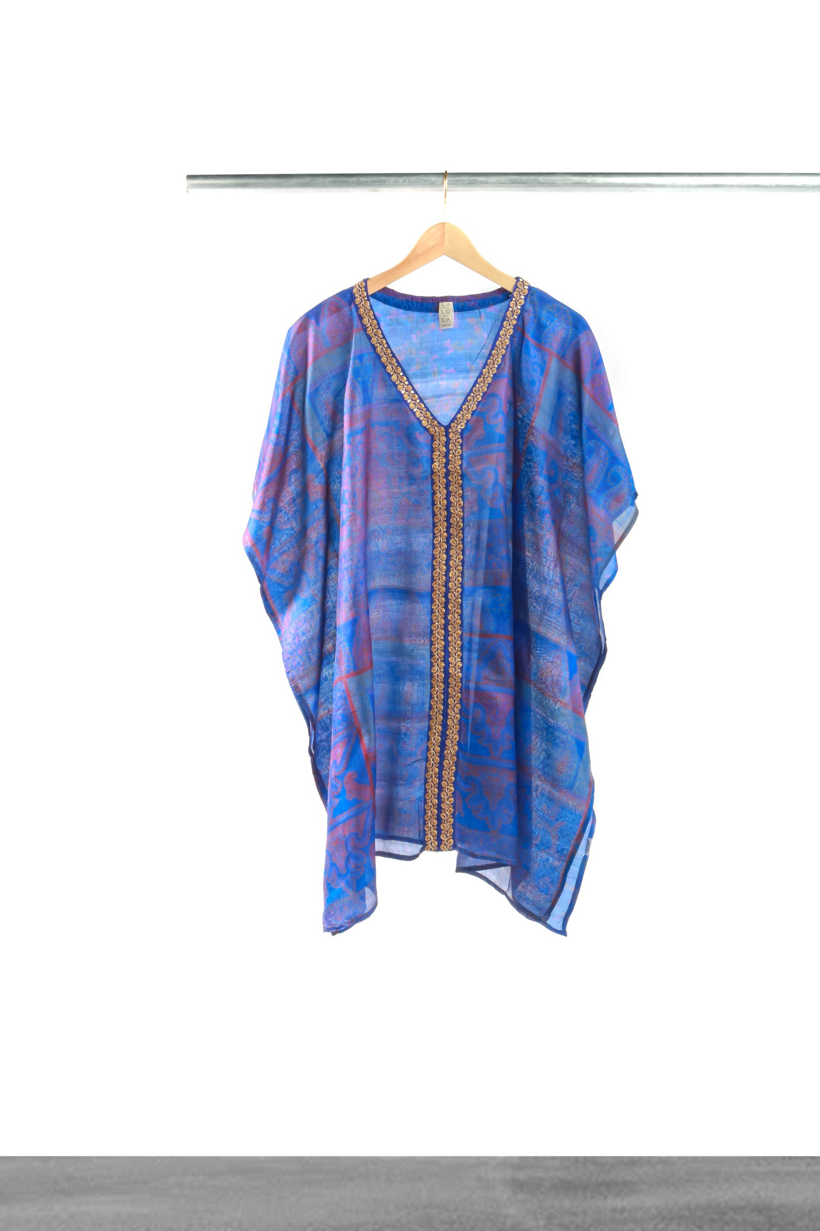 Sea Storm Short Kaftan