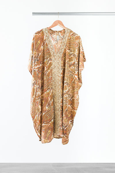 Wonderful Wheat Kaftan - La Lo La Clothing