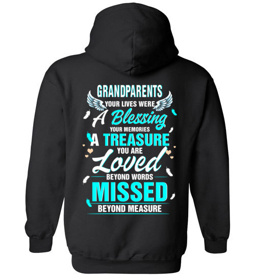 Grandparents -  Your Lives Were A Blessing Hoodie