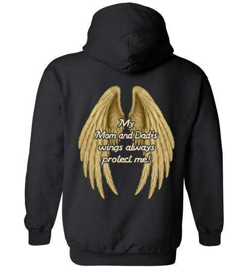 My Mom and Dad's Wings Always Protect Me Hoodie