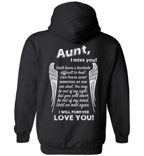 Aunt - I Miss You Hoodie