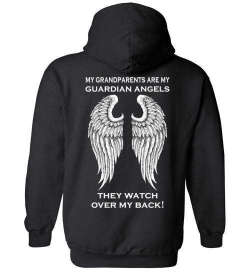 My Grandparents Are My Guardian Angels Hoodie