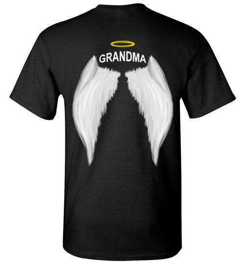 Grandma  - Halo Wings T-Shirt