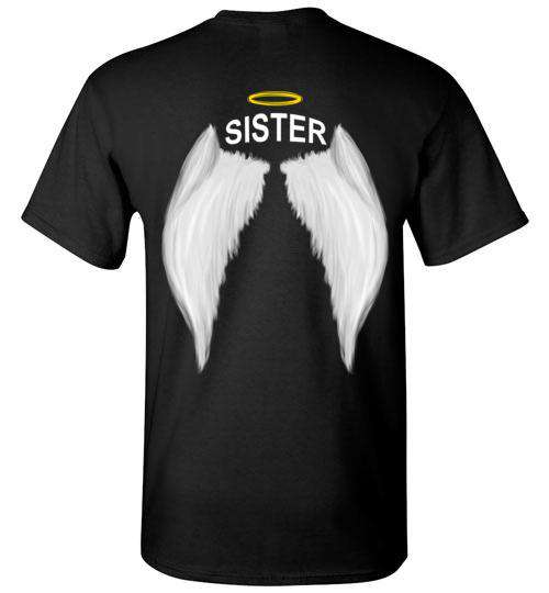 Sister - Halo Wings T-Shirt