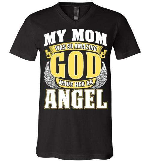 My Mom Was So Amazing Unisex V-Neck - Guardian Angel Collection