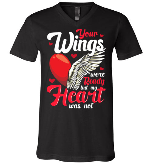 Your Wings Were Ready V-Neck