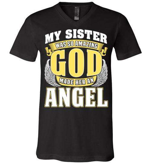 My Sister Was So Amazing Unisex V-Neck - Guardian Angel Collection