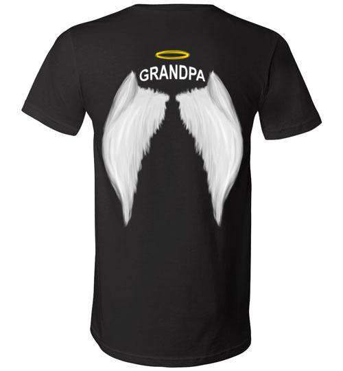 Grandpa - Halo Wings V-Neck