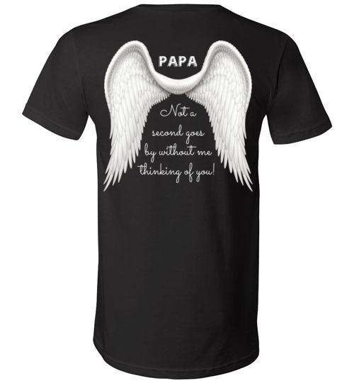 Papa - Not A Second Goes By V-Neck