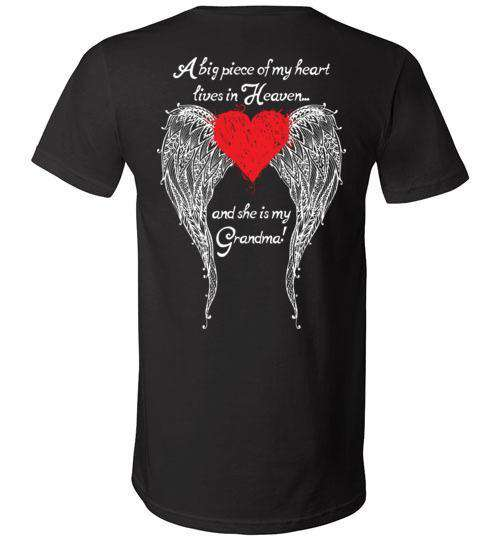 Grandma - A Big Piece of my Heart V-Neck