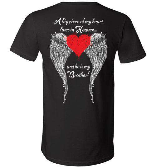 Brother - A Big Piece of my Heart V-Neck