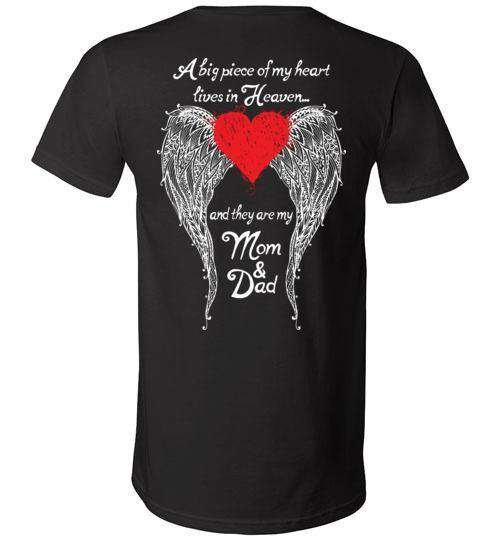 Mom & Dad - A Big Piece of my Heart V-Neck