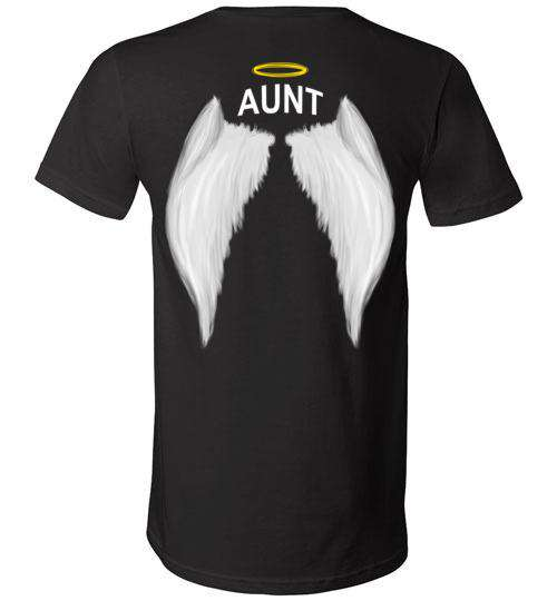 Aunt - Halo Wings V-Neck