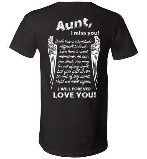 Aunt - I Miss You V-Neck