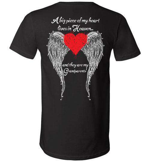 Grandparents - A Big Piece of my Heart V-Neck