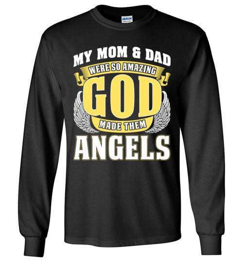e7de7a4d My Mom & Dad Were So Amazing Long Sleeve - Guardian Angel Collection