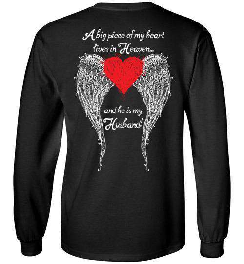 Husband - A Big Piece of my Heart Long sleeve