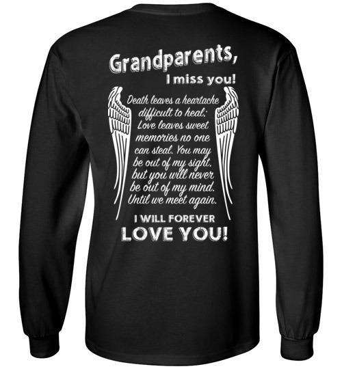 Grandparents - I Miss You Long Sleeve