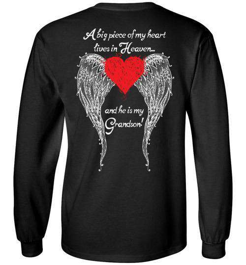 Grandson - A Big Piece of my Heart Long Sleeve