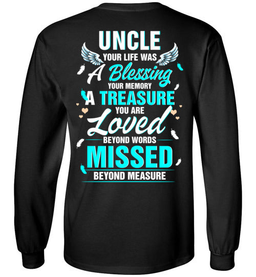 Uncle - Your Life Was A Blessing Long Sleeve