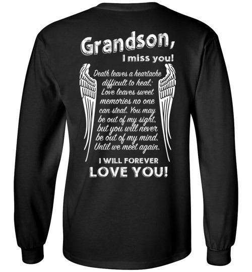 Grandson - I Miss You Long Sleeve
