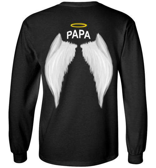 Papa  - Halo Wings Long Sleeve