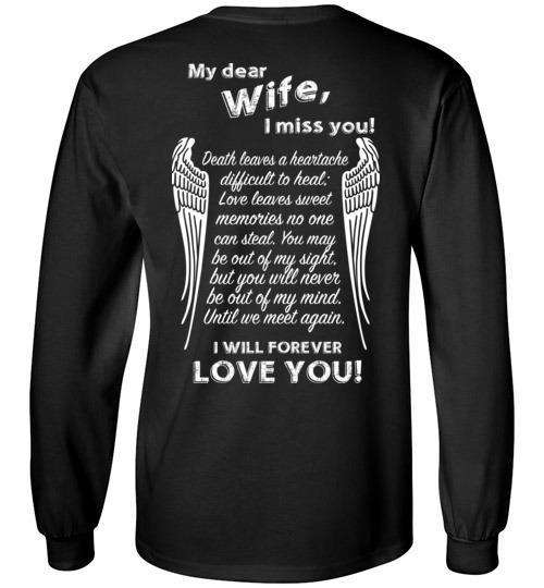 Wife - I Miss You Long Sleeve