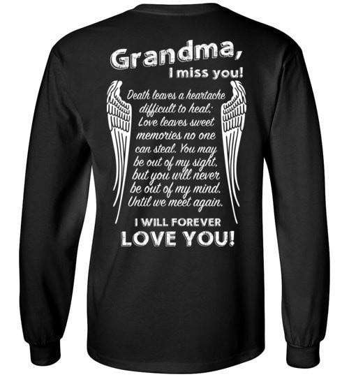 Grandma I Miss You Long Sleeve - Guardian Angel Collection