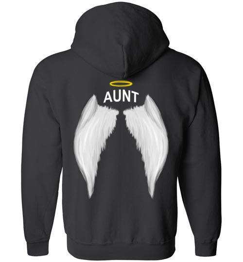 Aunt - Halo Wings FULL ZIP Hoodie