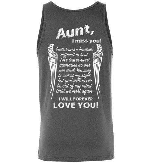 Aunt - I Miss You Tank