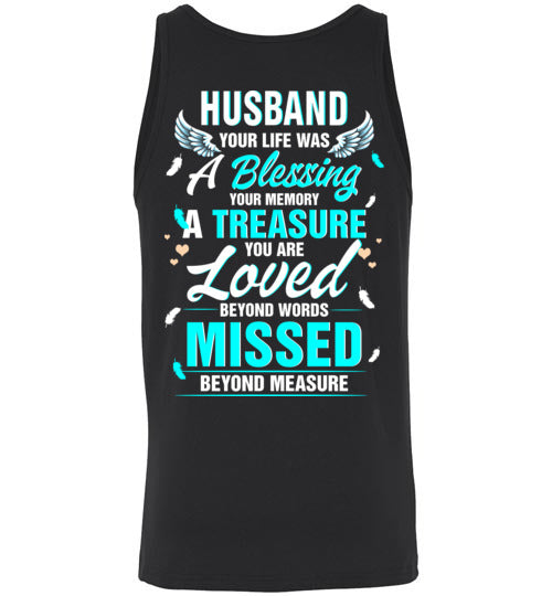 Husband - Your Life Was A Blessing Tank