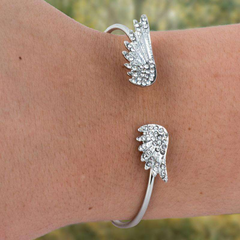 Angel Wings Bangle