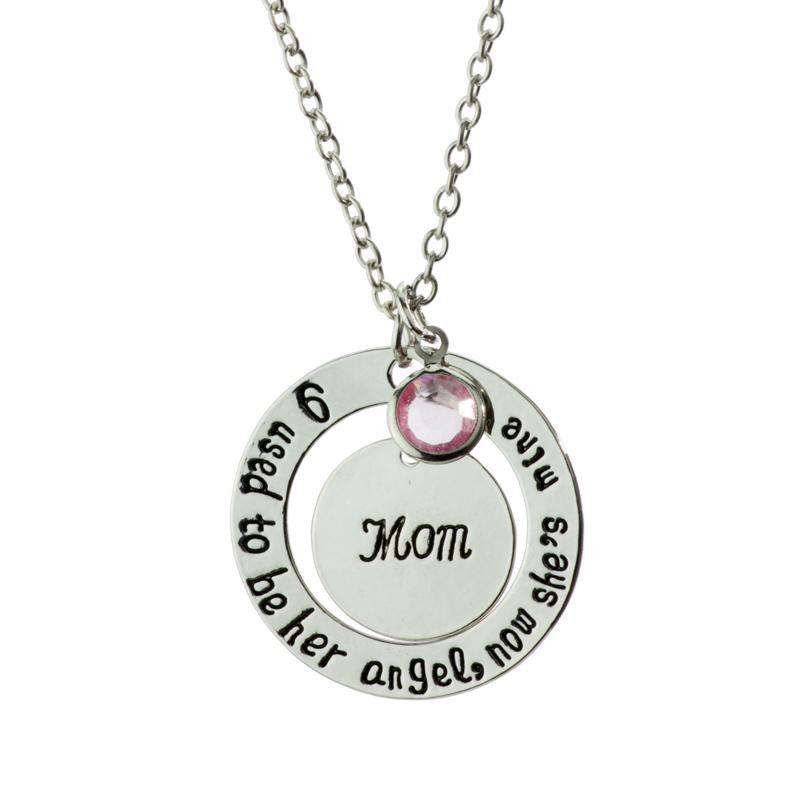 Mom - I Was Her Angel Necklace