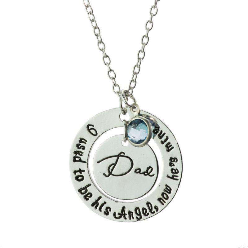 Dad - I Was His Angel Necklace