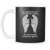 My Husband is my Guardian Angel Mug