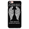 My Twins Are My Guardian Angels iPhone 6s Plus Case