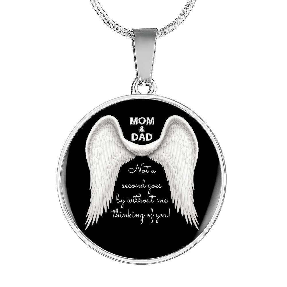 Mom & Dad - Not A Second Goes By Luxury Necklace