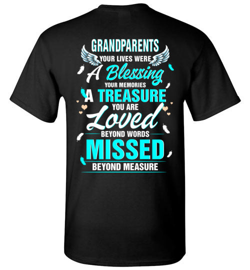Grandparents - Your Lives Were A Blessing T-Shirt