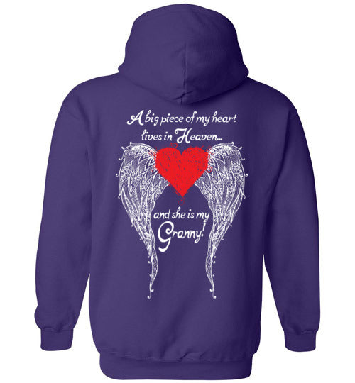 Granny - A Big Piece of my Heart Hoodie